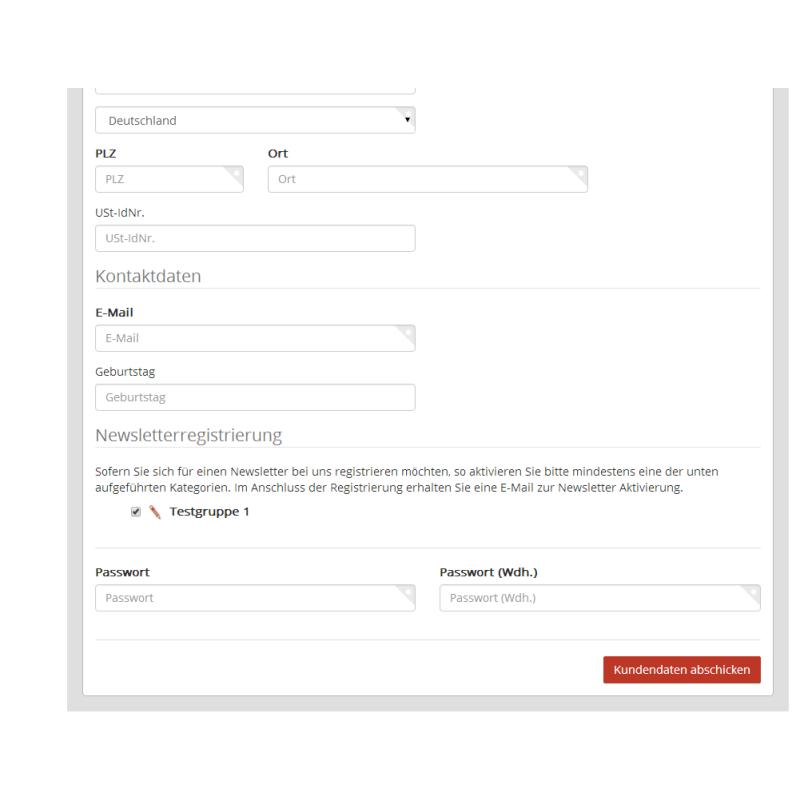 Cleverreach: CleverReach Newsletter Plugin Für JTL-Shop 4